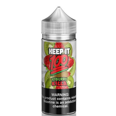 Kiberry Killa E Liquid 100ml (120ml with 2 x 10ml nicotine shots to make 3mg) Shortfill By Keep It 100