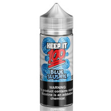 Blue Slushie E Liquid 100ml (120ml with 2 x 10ml nicotine shots to make 3mg) Shortfill By Keep It 100