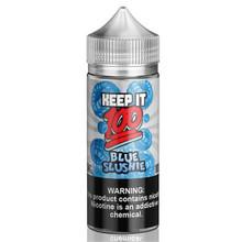 Blue Slushie E Liquid 100ml (120ml with 2 x 10ml nicotine shots to make 3mg) Shortfill By Keep It 100