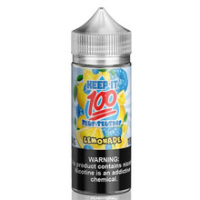 Blue Slushie Lemonade E Liquid 100ml (120ml with 2 x 10ml nicotine shots to make 3mg) Shortfill By Keep It 100