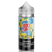 Blue Slushie Lemonade E Liquid 100ml (120ml with 2 x 10ml nicotine shots to make 3mg) Shortfill By Keep It 100