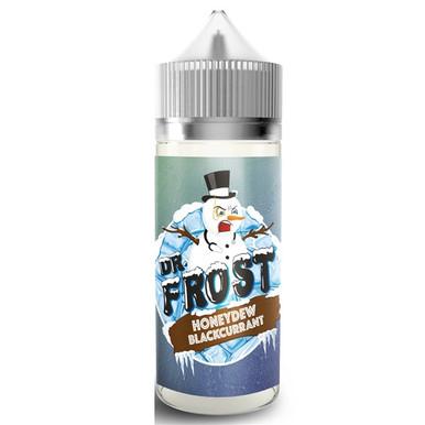 Honeydew Blackcurrant Ice E Liquid 100ml by Dr Frost (Zero Nicotine & Free Nic Shots to make 120ml/3mg)