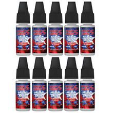 10 x 10ml Point Five Ohms E liquids Variety  Pack £8.99