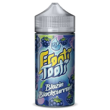 Blazin Blackcurrant E Liquid 200ml Shortfill (240ml with 4 x 10ml nicotine shots to make 3mg) by Frooti Tooti E Liquids Only £19.99 (FREE NICOTINE SHOTS)