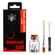 Demon Killer Handcraft Staple Mini Alien Prebuilt Wire Set Ni80 0.24 Ohms