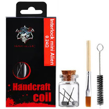 Demon Killer Handcraft Interlock Mini Alien Prebuilt Wire Set Ni80 0.24 Ohms