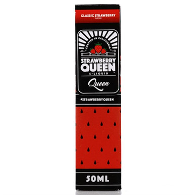 Queen E Liquid 50ml Shortfill by Strawberry Queen