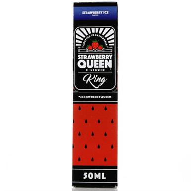 King E Liquid 50ml Shortfill by Strawberry Queen
