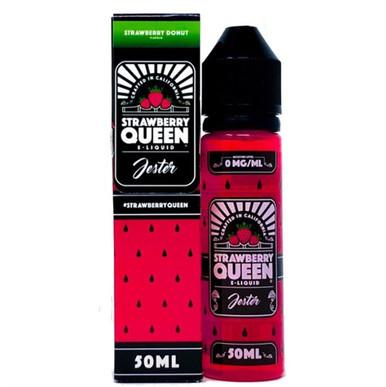 Jester E Liquid 50ml Shortfill by Strawberry Queen