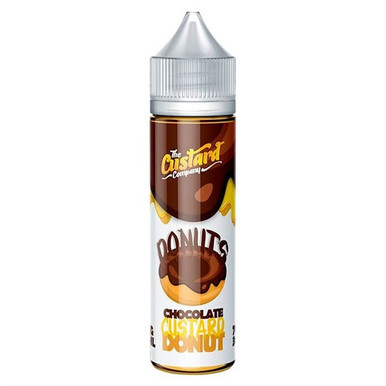Chocolate Custard Donut E Liquid 50ml by The Custard Company Only £11.99 (Zero Nicotine or with Free Nicotine Shot)
