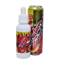 Fizzy Strawberry Custard E Liquid 55ml (65ml with 1 x 10ml nicotine shots to make 3mg)Shortfill by Mohawk & Co