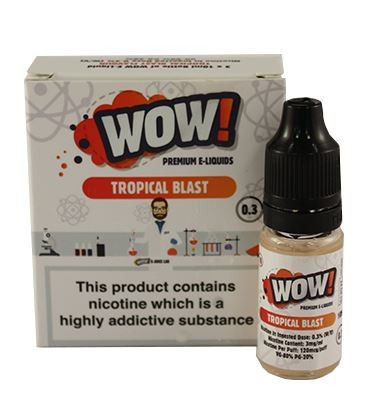 Tropical Blast High VG E Liquid 3 x 10ml By Wow E Liquids
