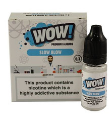 Slow Blow High VG E Liquid 3 x 10ml By Wow E Liquids
