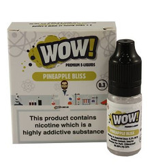 Pineapple Bliss High VG E Liquid 3 x 10ml By Wow E Liquids