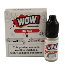 Red Haze High VG E Liquid 3 x 10ml By Wow E Liquids