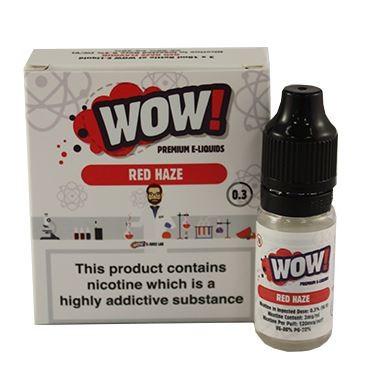 Red Haze High VG E Liquid 3 x 10ml By Wow E Liquids