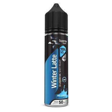 Superstar Vapes Winter Latte Premium High VG (70/30) E Liquid 50ml