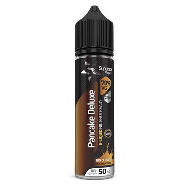 Superstar Vapes Pancake Deluxe Premium High VG (70/30) E Liquid 50ml