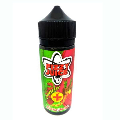 Fizzy Strawberry Pineapple 100ml Shortfill (120ml with 2 x 10ml nicotine shots to make 3mg) by Mohawk & Co E Liquids Only £17.99 (FREE NICOTINE SHOTS)