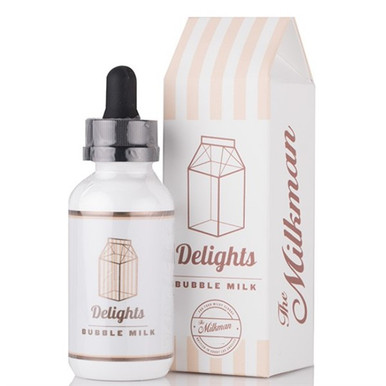 Bubble Milk E Liquid 50ml (60ml with 1 x 10ml nicotine shots to make 3mg) Shortfill by The Milkman Delights