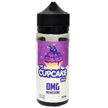 The Cupcake Man Blueberry E Liquid 100ml by At Vaper Treats (Zero Nicotine & Free Nic Shots to make 120ml/3mg)