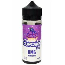 The Cupcake Man Blueberry E Liquid 100ml by At Vaper Treats (Zero Nicotine & Free Nic Shots to make 120ml/3mg)