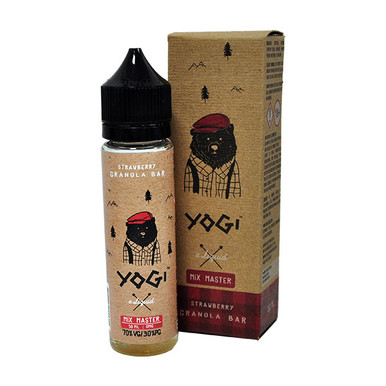 Strawberry Granola Bar E Liquid 50ml (60ml with 1 x 10ml nicotine shots to make 3mg) Shortfill by Yogi
