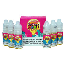 Ice Cream Cake E Liquid 6x10ml By Vaper Treats