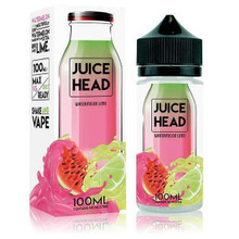 Watermelon Lime 100ml (Zero Nicotine & Free Nic Shots to make 120ml/3mg) by Juice Head