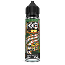 Pineapple Fantasi E Liquid 50ml by KO Vapes (Includes Free Nicotine Shot)
