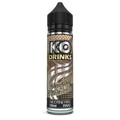 Vanilla Milkshake E Liquid 50ml by KO Vapes (Includes Free Nicotine Shot)