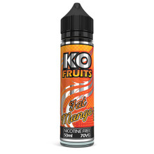 Fat Mango E Liquid 50ml by KO Vapes (Includes Free Nicotine Shot)