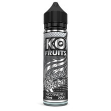 Black Haze E Liquid 50ml by KO Vapes (Includes Free Nicotine Shot)