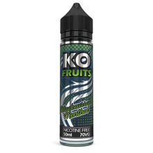 Blackcurrant Menthol E Liquid 50ml by KO Vapes (Includes Free Nicotine Shot)
