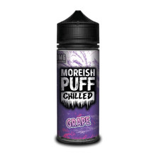Chilled Grape E Liquid (Zero Nicotine & Free Nic Shots to make 120ml/3mg) by Moreish Puff