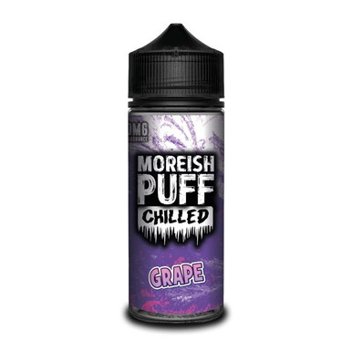 Chilled Grape E Liquid (Zero Nicotine & Free Nic Shots to make 120ml/3mg) by Moreish Puff