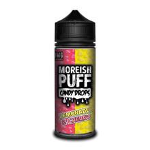 Lemonade & Cherry E Liquid (Zero Nicotine & Free Nic Shots to make 120ml/3mg) by Moreish Puff