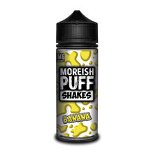 Banana Shakes E Liquid (Zero Nicotine & Free Nic Shots to make 120ml/3mg) by Moreish Puff