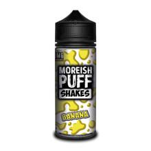Banana Shakes E Liquid (Zero Nicotine & Free Nic Shots to make 120ml/3mg) by Moreish Puff