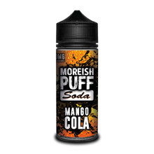 Mango Cola E Liquid (Zero Nicotine & Free Nic Shots to make 120ml/3mg) by Moreish Puff