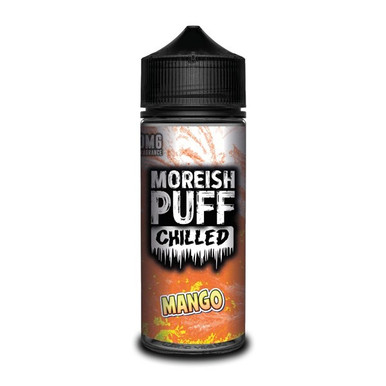 Chilled Mango E Liquid (Zero Nicotine & Free Nic Shots to make 120ml/3mg) by Moreish Puff