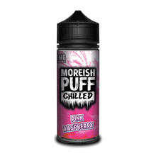 Pink Raspberry Chilled E Liquid (Zero Nicotine & Free Nic Shots to make 120ml/3mg) by Moreish Puff