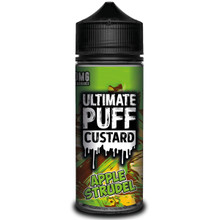 Apple Strudel Custard E Liquid (Zero Nicotine & Free Nic Shots to make 120ml/3mg) by Ultimate Juice