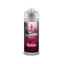 Cherry E Liquid (Zero Nicotine & Free Nic Shots to make 120ml/3mg) by Get Slushed