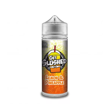 Lemon & Pineapple E Liquid (Zero Nicotine & Free Nic Shots to make 120ml/3mg) by Get Slushed