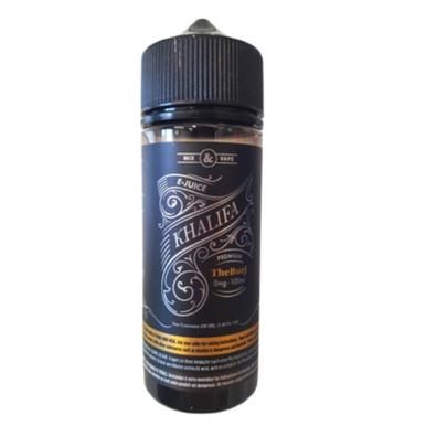 The Burj E Liquid 100ml by Khalifa (Zero Nicotine & Free Nic Shots to make 120ml/3mg)