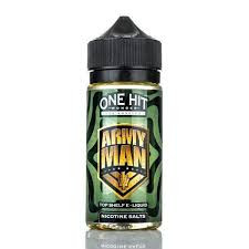 Army Man E Liquid 100ml by One Hit Wonder