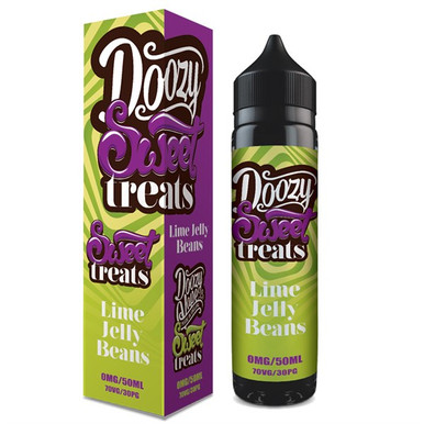 Lime Jelly Beans E Liquid 50ml by Doozy Vape Co