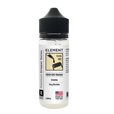 Element Crema 100ml E Liquid