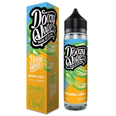 Orange Chill E Liquid 50ml by Doozy Vape Co